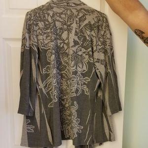 Sweaters - Gray cardigan